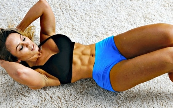 abs workout exercises women