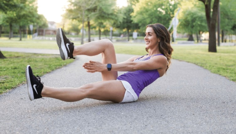 crunch claps exercise for abs