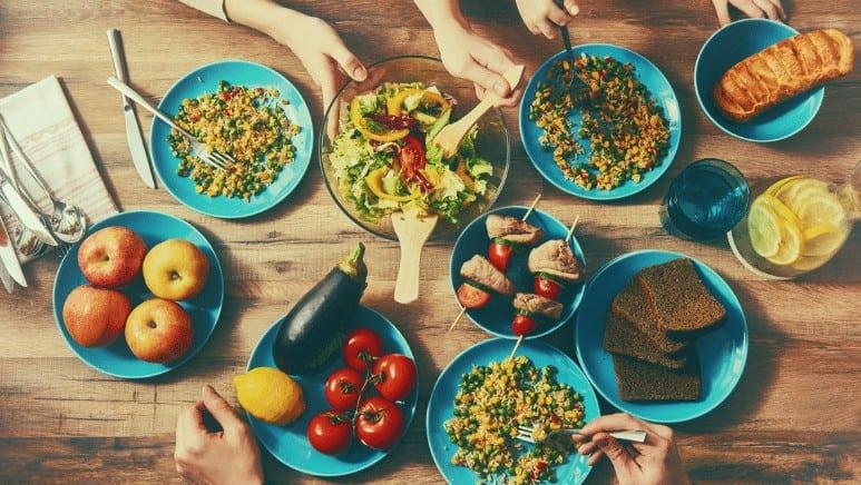 healthy eating food items