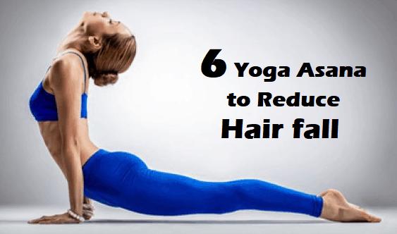 yoga asana to reduce hair fall