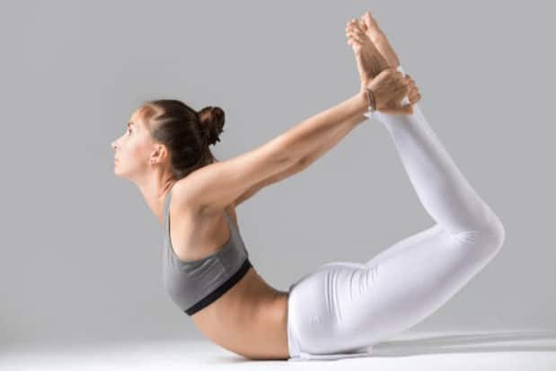 Bow pose or Dhanurasana