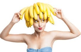 banana for healthy hair