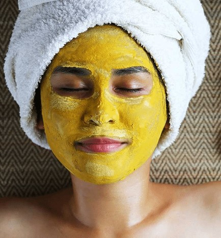 beauty home-made products: besan face mask
