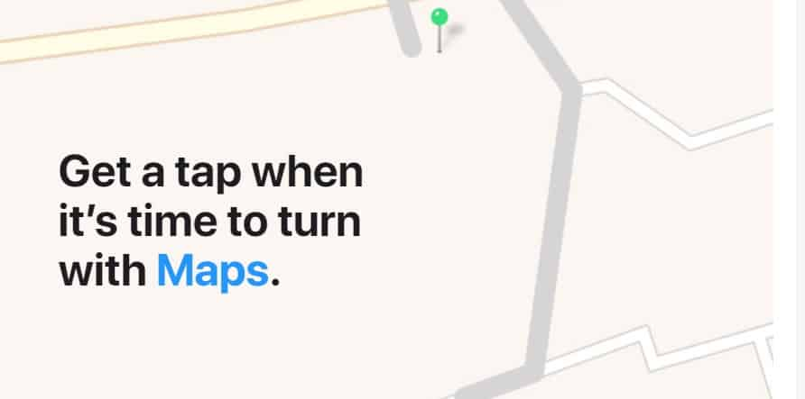 gmaps on watch series 3