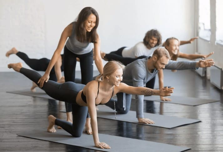 group mat pilates