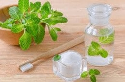 home-made products: mint toner