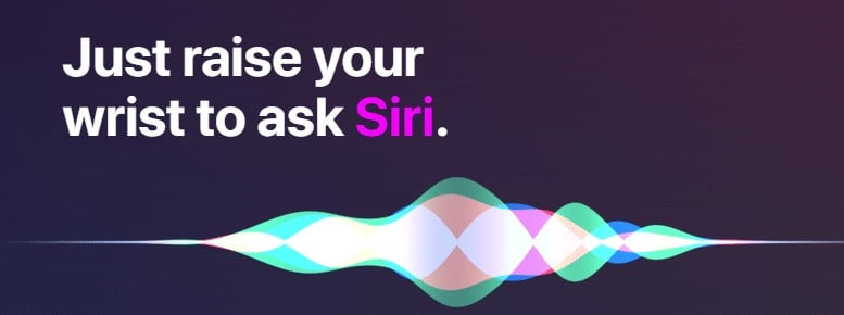 siri on apple watch series 3