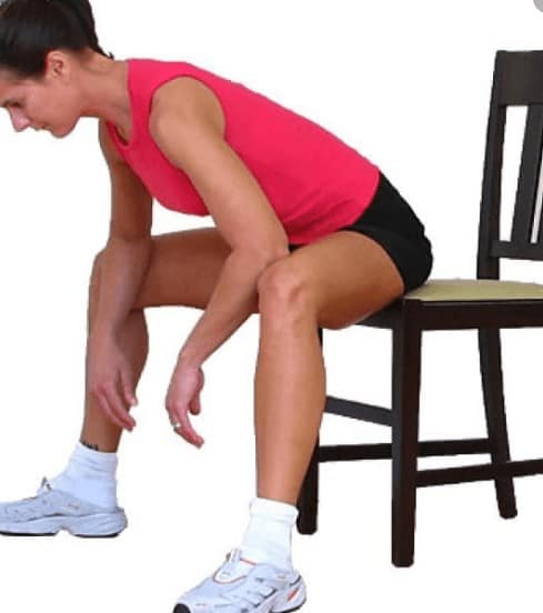 inner thighs stretching exercise