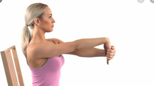 wrist flexion stretching for hands