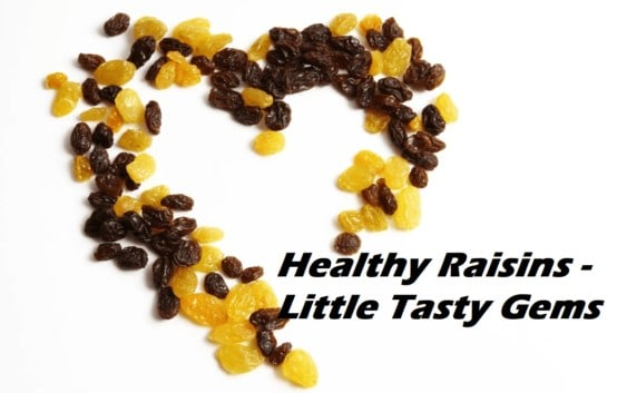 health benefits of raisins