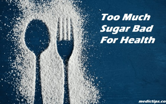 too much is bad for health