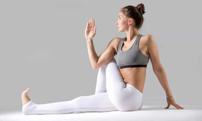 SIMPLE SPINAL TWIST or VAKRASANA