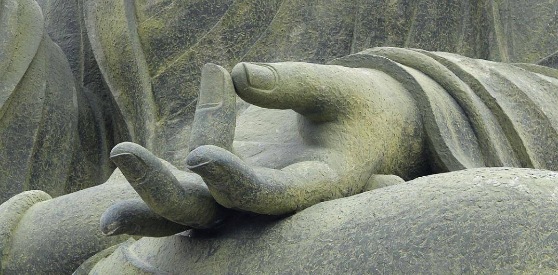 akash mudra buddha