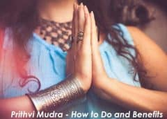 Prithvi Mudra: How To Do It and Health Benefits