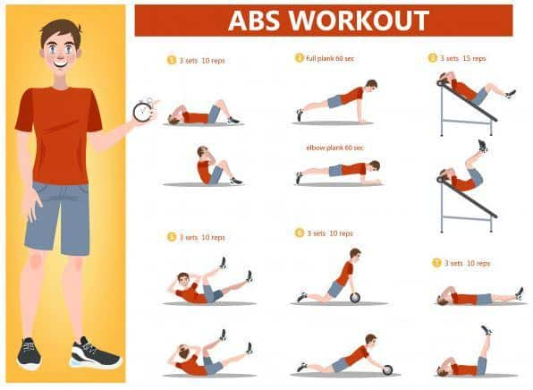 abs workout men fitness