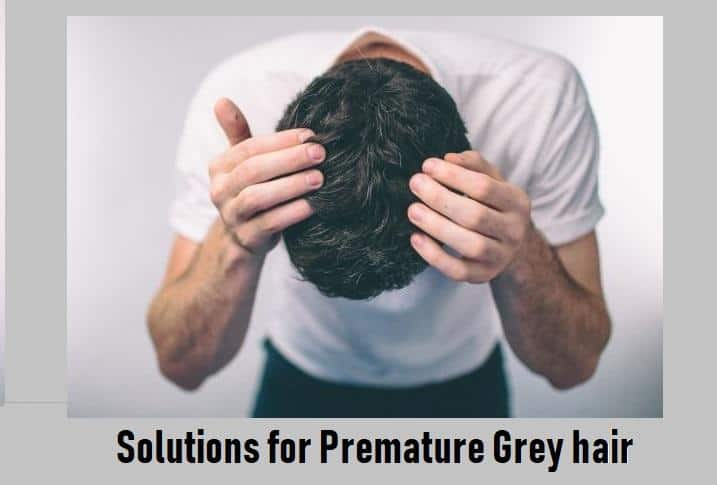 premature grey hair