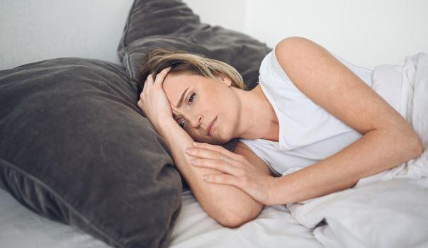 depressed women with insomnia due to PMS
