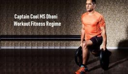 MS Dhoni Workout Routine and Healthy Diet Plan