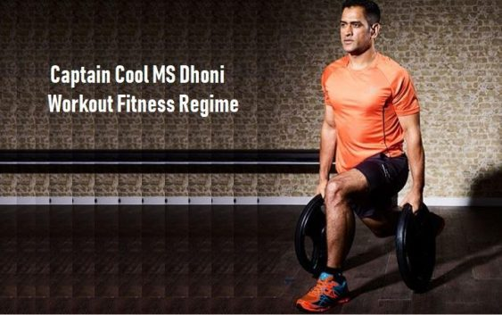 ms dhoni workout fitness regime