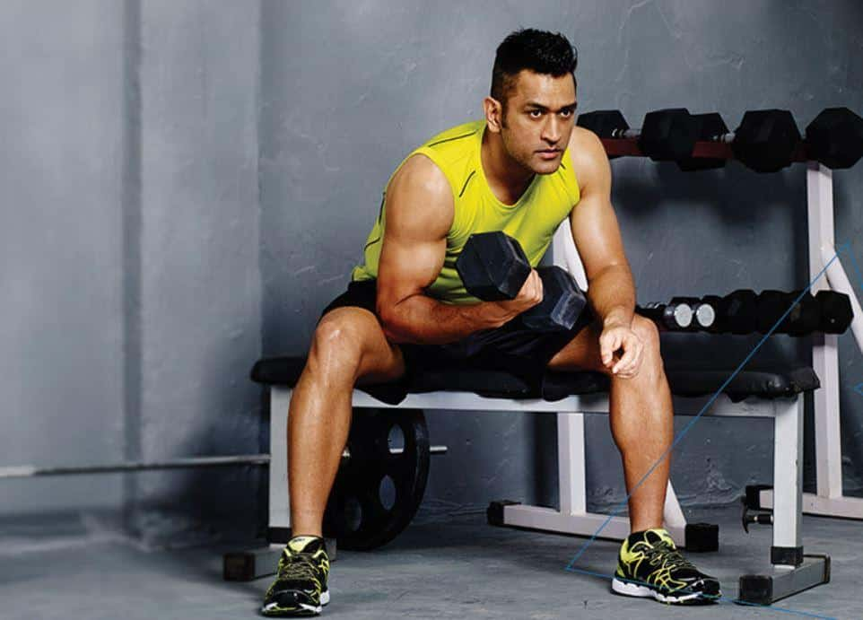 ms dhoni workout routine