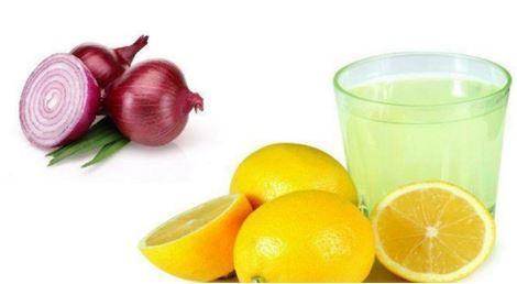 onion and lemon mix