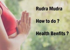 Rudra Mudra: How To Do It and It's Health Benefits