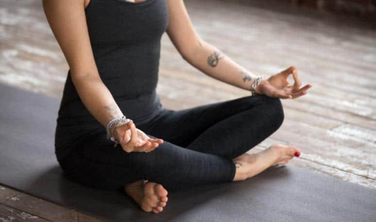 sukhasana pose