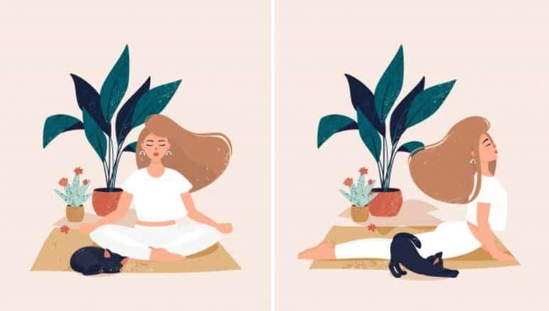 surya namaskara yoga pose
