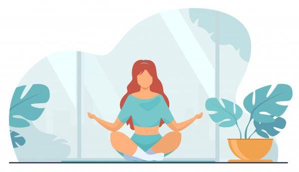 yoga and meditation for calm mind
