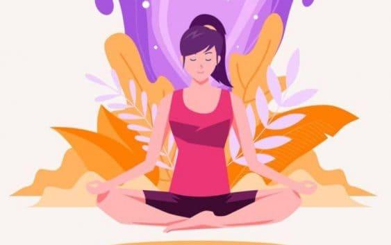 yoga mudra asana ; kubera mudra