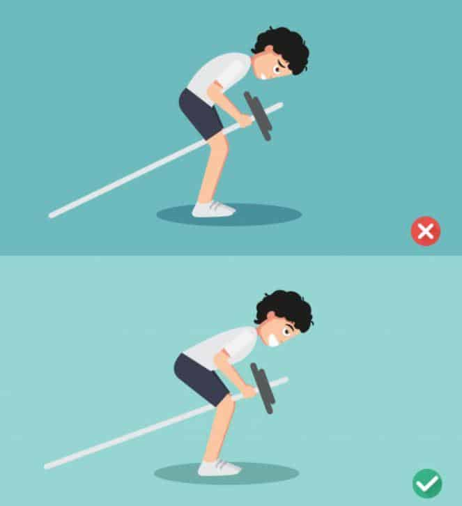 Bent Over Barbell Row – workout for men