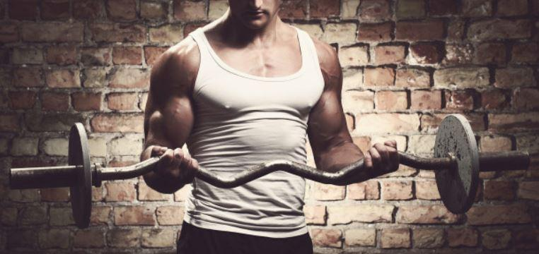 barbell curl arms workout for men