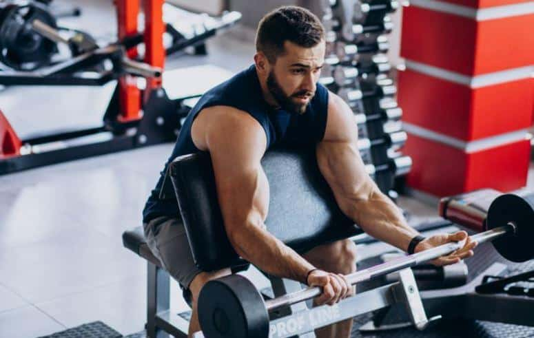 preacher curl workout for bigger biceps