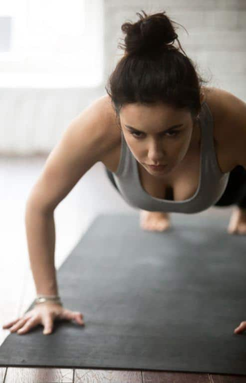 push ups for breast and chest
