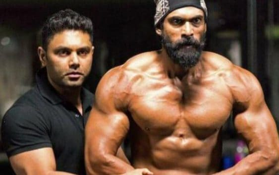 rana daggubati workout body