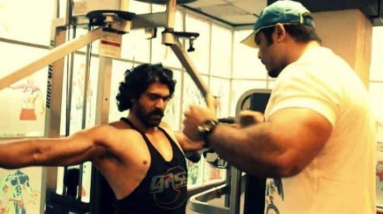 rana daggubati workout fitness
