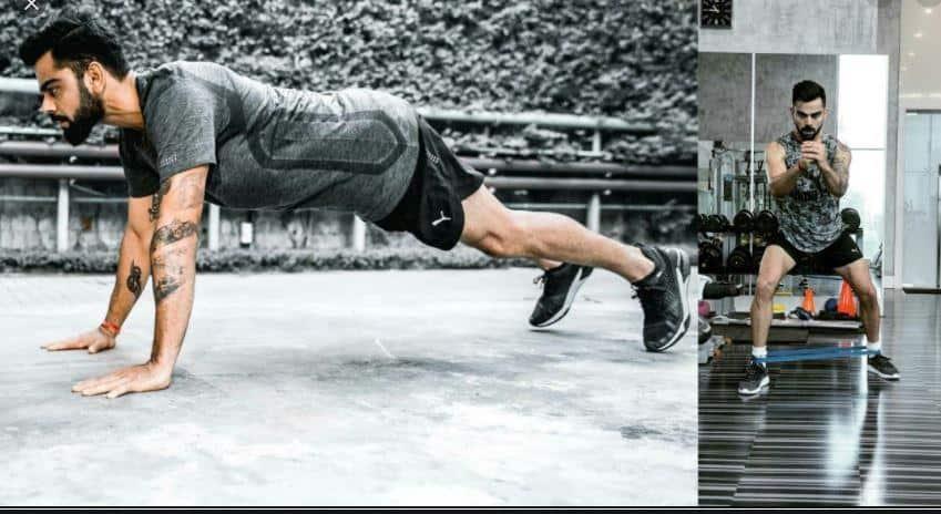 virat kohli fitness workout at home