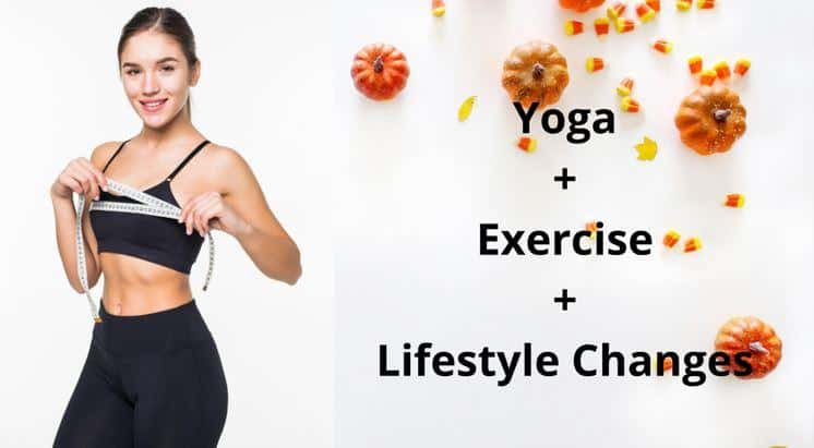 yoga lifestyle and workout or exercises for bigger boobs