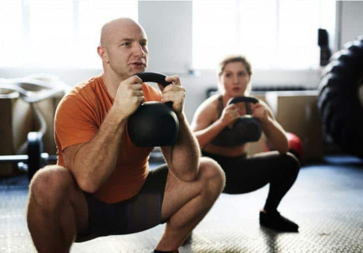 goblet squats exercise