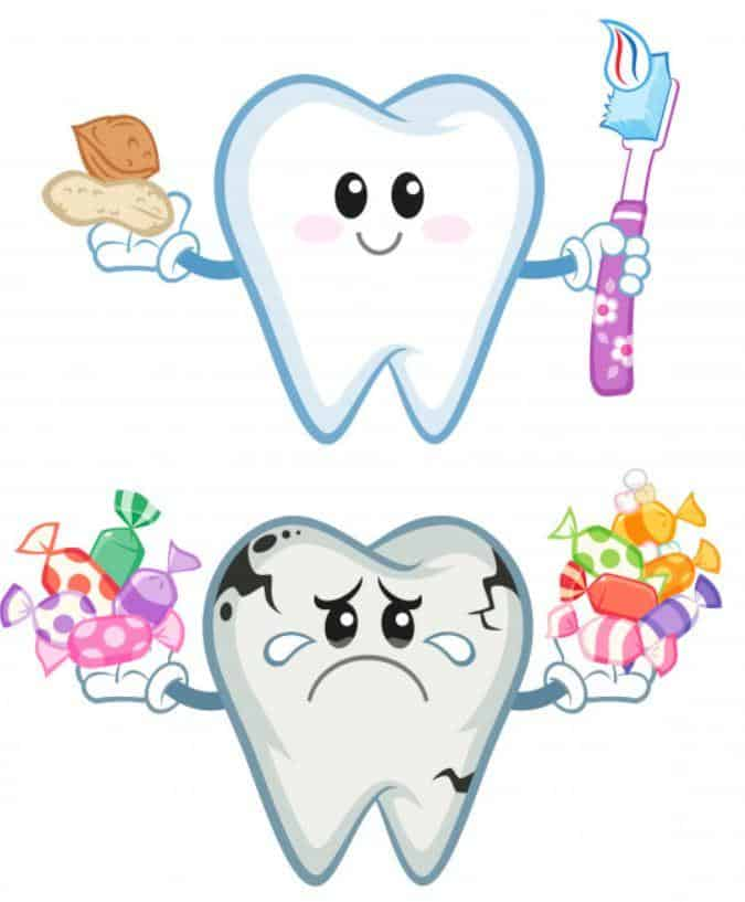 reasons and causes of cavities or dental caries