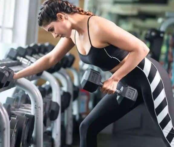 samantha akkineni workout fitness