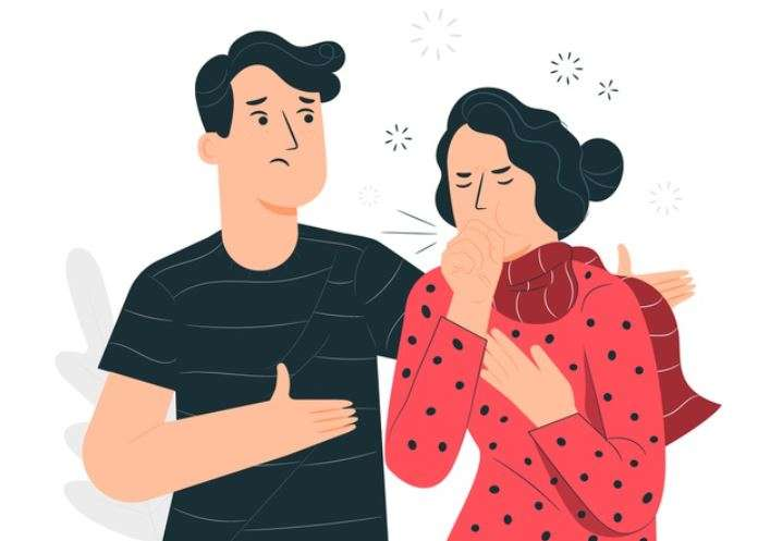 coughing and air pollution