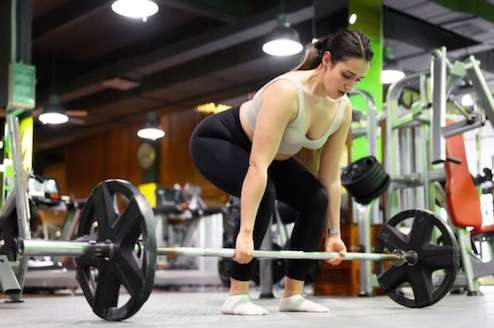 deadlift lower body workout
