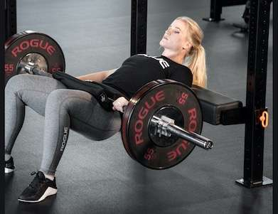hip thruster lower body workout