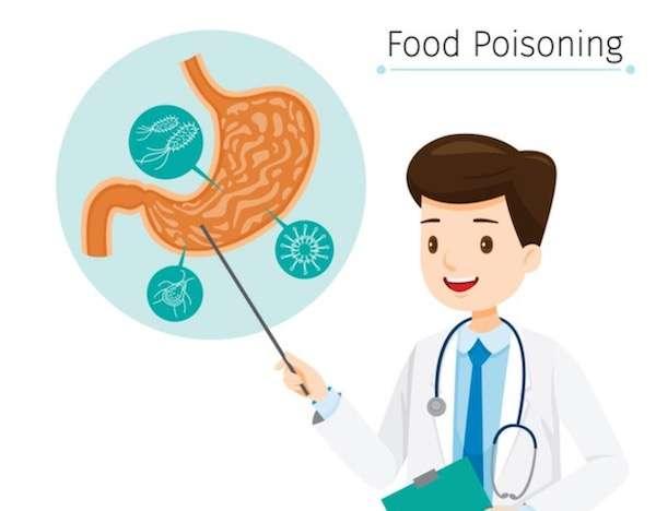 upset stomach food poisoning