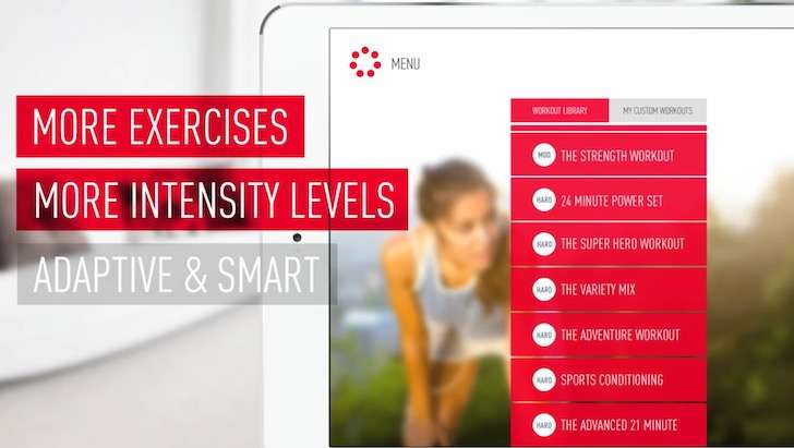 johnson and johnson 7 minute workout app