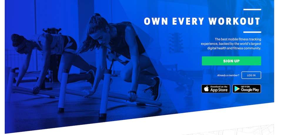 map my fitness best workout apps for iphone