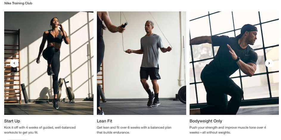 nike training club best workout apps for iphone