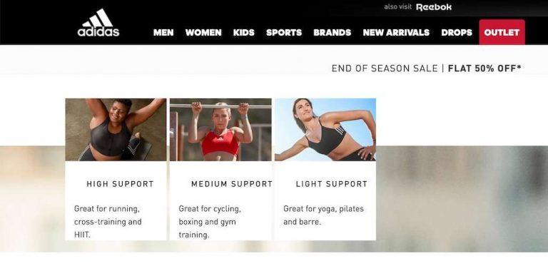 adidas best gym clothing websites