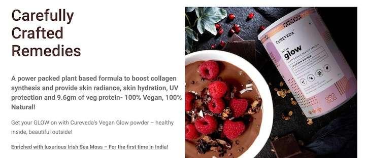 Cureveda Plant Based Best Collagen powder for skin